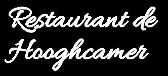 restaurant de hooghcamer